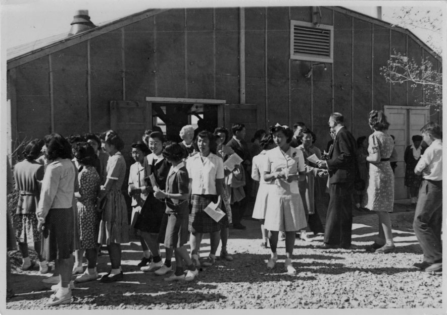 japanese internment camp essay Japanese internment camps essay a well known supreme court case fred korematsu had refused to enter an internment camp, so in 1942 he was arrested and sent to a camp.