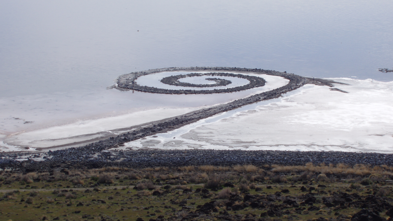 What is the significance and importance of the Spiral Jetty?