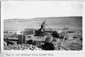 One of the many mines that were located just west of Salt Lake City. They were the driving force of the economy in the 1920s, but saw difficult times in the '30s. Special Collections Department, J. Willard Marriott Library, University of Utah.