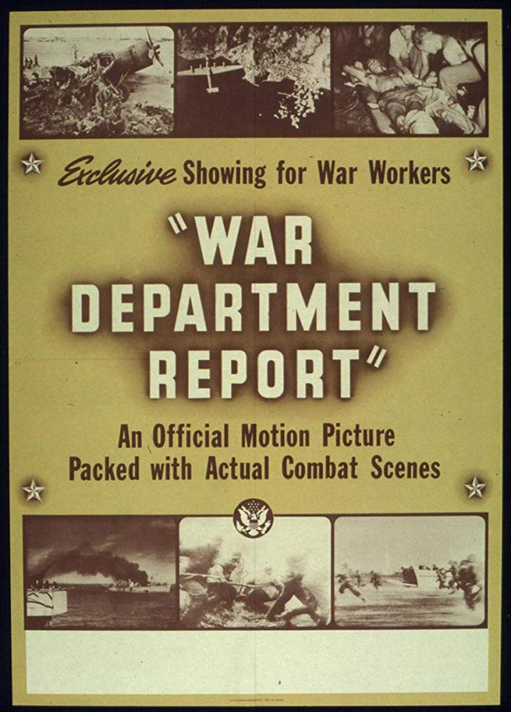 war department report