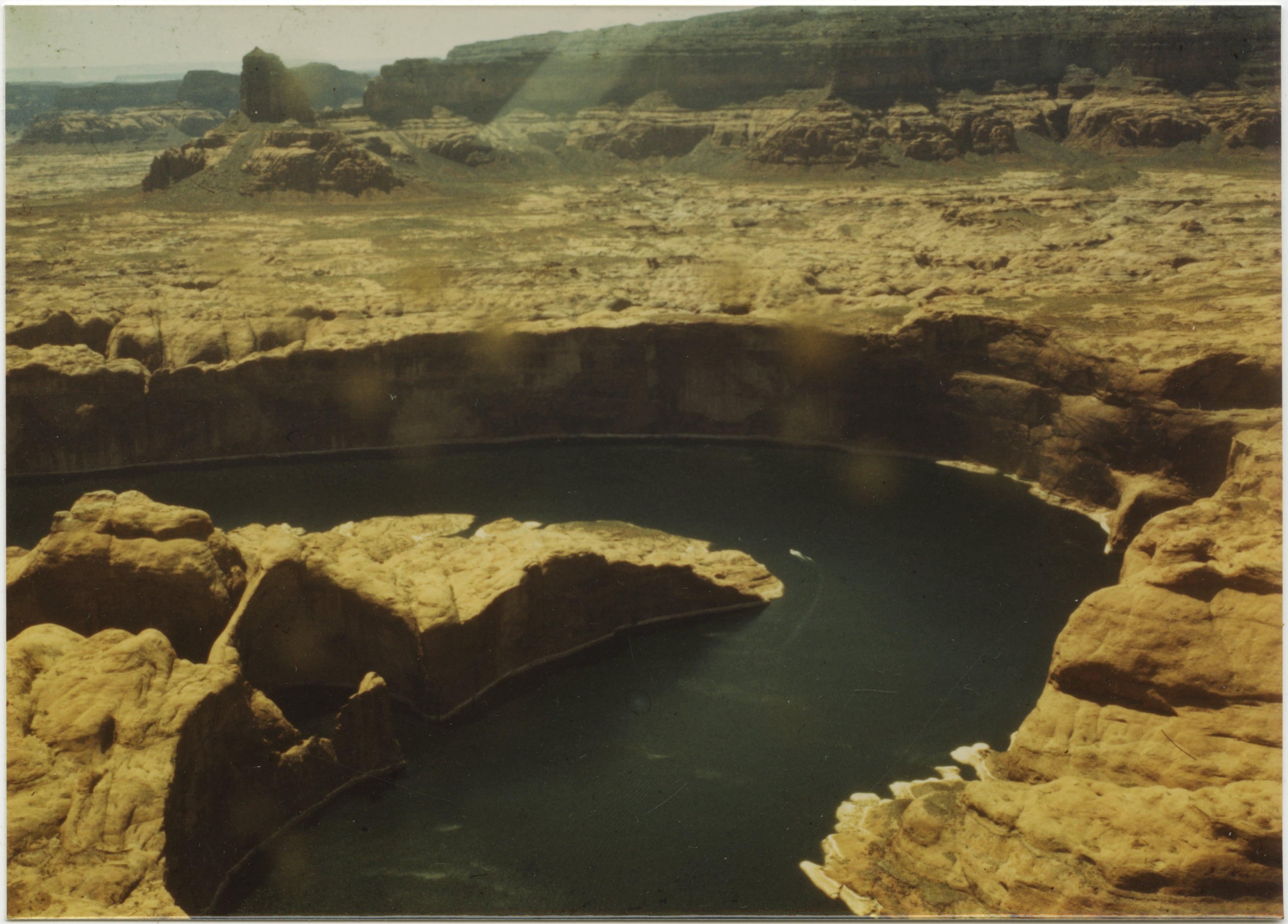 Aerial glen canyon